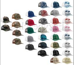 Richardson Trucker, Logo, camo, Baseball Cap, Meshback Hat,