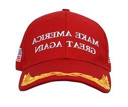 Trump Hat Make America Great Again MAGA Baseball Cap Hat RED