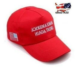 Trump Make America Great Again Red Baseball Cap MAGA