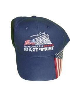 Trump Train 2020 Hat Baseball Cap One Size New All Aboard Na