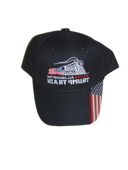 Trump Train 2020 Hat Baseball Cap One Size New All Aboard Bl