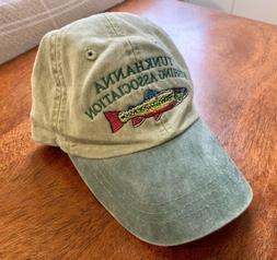 TUNKHANNA FISHING ASSOC Blakeslee, PA Baseball Cap by Adams