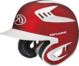 Rawlings 80 MPH Two Tone Translucent Matte Batting Helmet, S
