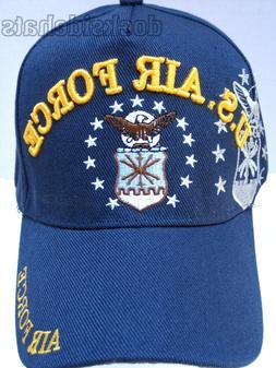 U.S. AIR FORCE VETERAN Cap/Hat w/ INSIGNIA SHADOW Military *