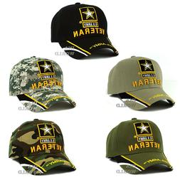 U.S. ARMY hat cap ARMY STRONG Veteran Military Officially Li