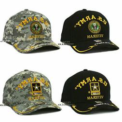U.S. ARMY VETERAN hat cap Military Official Licensed Embroid
