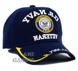 U.S. NAVY hat  VETERAN Military Official Licensed Logo Baseb
