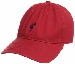 U.S. Polo Assn. Men's Small Solid Horse Adjustable Cap