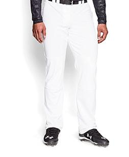 Under Armour Men's UA Leadoff Baseball Pants Medium White