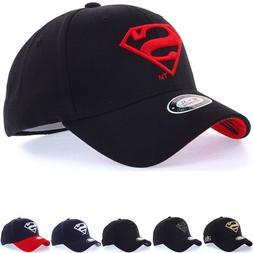Unisex Mens WB DC Comics Superman S Logo Flexfit Baseball Ca