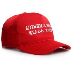 Unisex Red Baseball Caps MAGA Make America Great Again Hat D