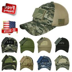 US American USA Flag Baseball Cap Trucker Army Tactical Hip