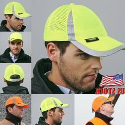 US STOCK Hi Vis Bump Cap Safety Work Wear Hard Hat Head Prot