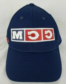 7d7da2d1e CCM USA Blue Fitted Baseball Cap S/M ...