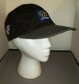 BULA USA Subaru Ski Team Hat Cap Black Wax Cloth