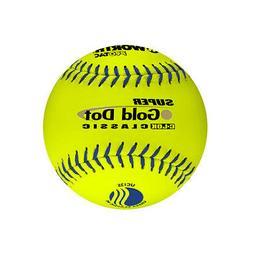"Wilson Worth 12"" USSSA Gold Dot Classic Slowpitch Softballs"