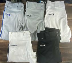 Nike Vapor AQ7979-109 Pro Boys Baseball Pant Knickers Piped