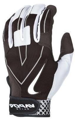 NIKE Vapor Elite Batting Glove Bk/Wt Size S