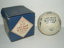 "Vintage Windy City 16"" Ripper Softball, Kapok Core, Leathe"