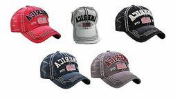 Vintage Distressed AMERICA 1776 Hat Baseball Cap - KBETHOS -