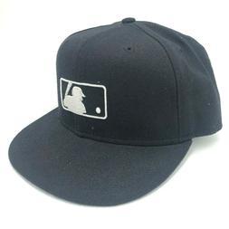 Vintage Major League Baseball New Era Cap Fitted Hat Black W