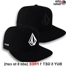 Volcom Full Stone Cap Logo Snap Back Hat Surf Skate Snow Boa