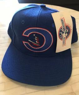 VTG NWT MLB Columbus Clippers Minor League Baseball Snap Bac