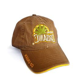 Weed Baseball Cap 100% Organic Hat Marijuana Mary Jane Pot H
