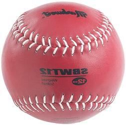 Markwort Weighted 12 Ounce Softball-Leather Cover, Maroon