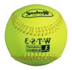 Markwort Weighted Synthetic Covered Baseball, 9-Inch, 3-Ounc