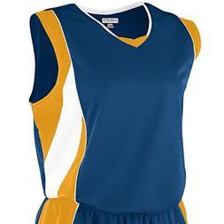 Augusta Sportswear Women's Wicking Mesh Extreme Jersey L Nav