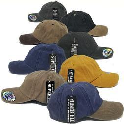 Baseball Hat Women Men Pigment Dyed Dad Plain Blank Adjustab