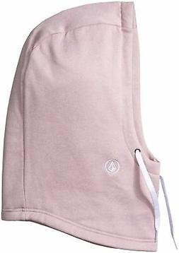 Volcom Women's Dang Hydro Fleece Hood Only Rose Wood One Siz