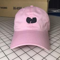 Wu-Tang Dad Hat Unstructured Baseball Cap Pink Brand New - F