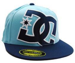 DC Shoes Ya Heard 210 Stretch Fit DC Logo Flatbill Baseball