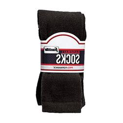 Franklin Sports Youth Baseball Socks, Black, Medium