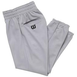 Wilson Youth Basic Classic Fit Baseball Pant, Grey, Medium