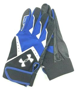 Under Armour Youth Clean Up VI Batting Gloves Youth Large Bl