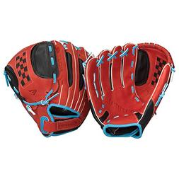 Easton Youth Fastpitch Series NYFP1150 Glove , Red/Blue, Rig