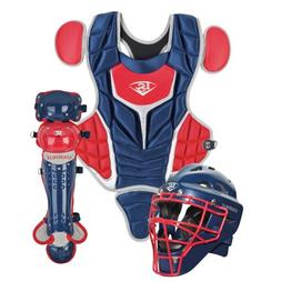 Louisville Slugger Youth PG Series 5 Catchers Set, Navy/Scar