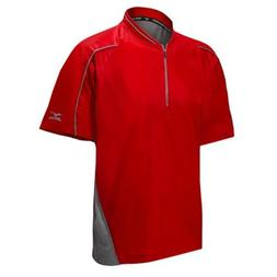 Mizuno Youth Protect Batting Jersey, Red, Large