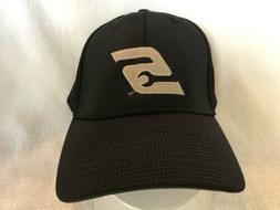 youth size Black Snap On Baseball Cap with S logo will fit u