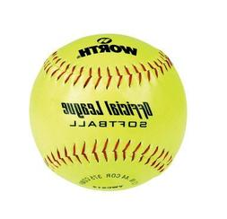 Worth YWCS12 12-Inch Official Softball League Stamped Optic