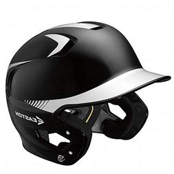 Easton Junior Z5 2Tone Batters Helmet, Black/Silver