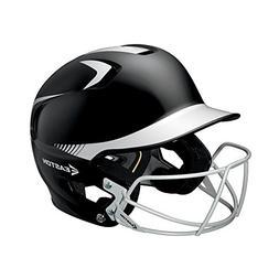 Easton Junior Z5 2Tone Batters Helmet with BBSB Mask, Black/