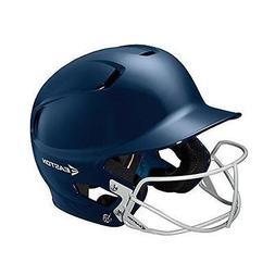 Easton Junior Z5 Batters Helmet with SB Mask, Navy